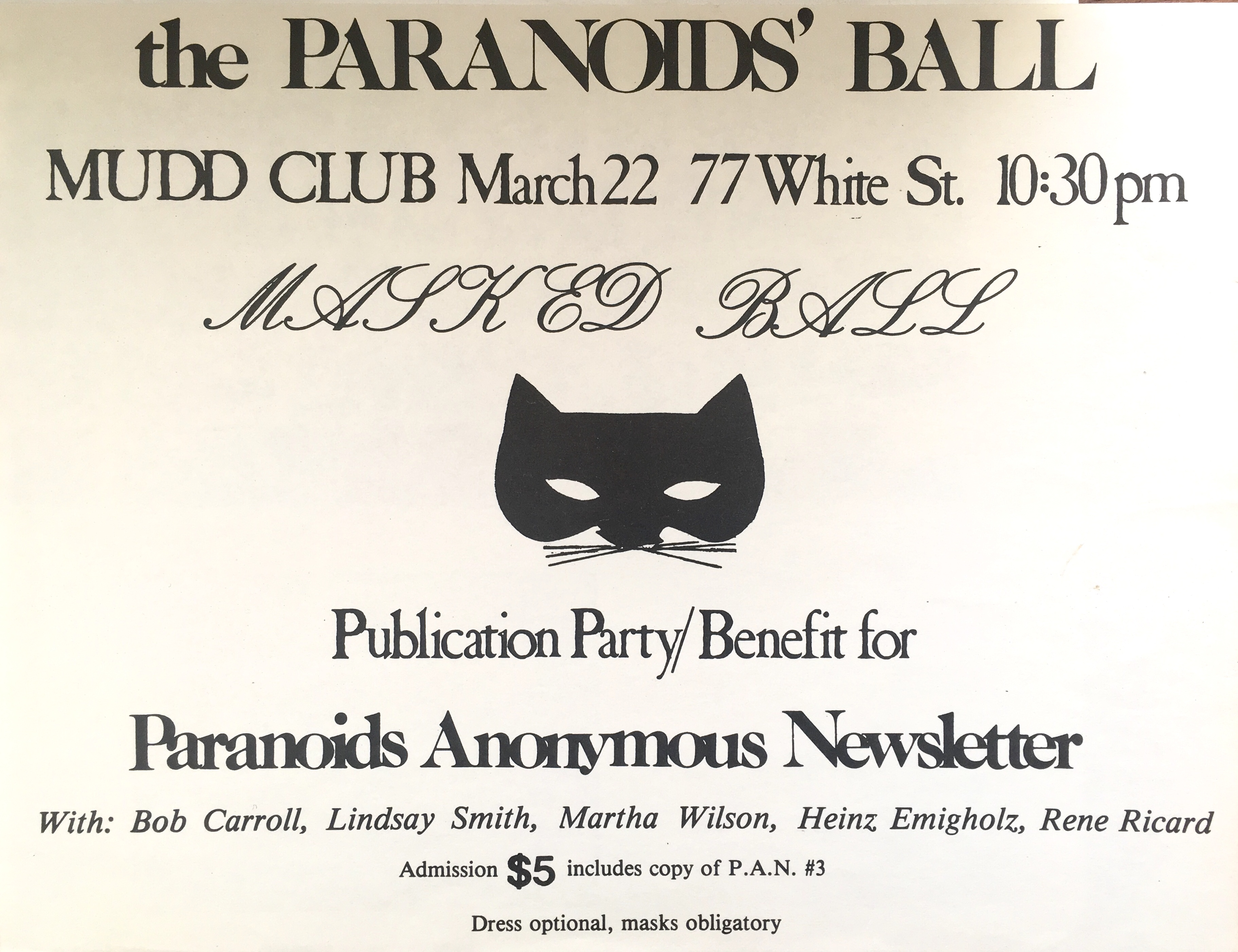 Image result for paranoids anonymous pics